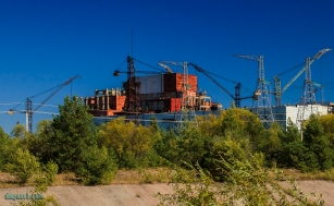 A następne dwa reaktory były w budowie / Meanwhile two new reactors were under construction